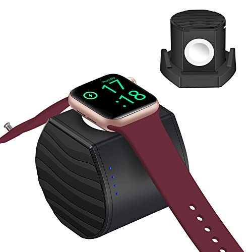 PL ZMPWLQ Ladegerät für Apple Watch 3000mAh Power Bank iWatch ladestation [MFI Zertifiziert] 5W Schnellladegerät Ladegerät kabellos Energiebank für Apple Watch Series 6 5 4 3 2 1