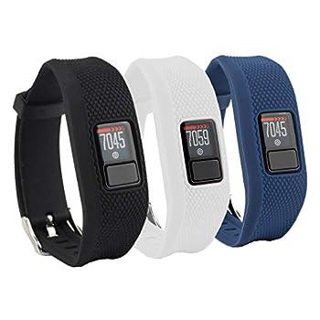 Tkasing Compatible with Garmin Vivofit 3/jr/jr 2 Bands,Adjustable Replacement Wristbands with Watch Buckle for Garmin Vivofit 3 Kids Women Men No Tracker