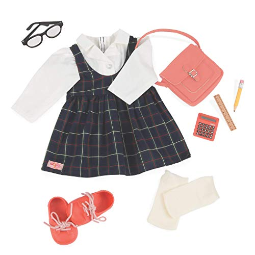 "Our Generation by Battat- Perfect Score School Uniform Deluxe Doll Outfit- Doll Clothes & Accessories for 18"" Dolls- for Age 3 Years & Up"