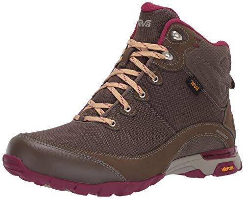 Teva womens W Sugarpine Mid Wp Hiking Boot, Brown, 8.5 US