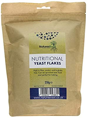 Natures Root Nutritional Yeast Flakes 250 g - Best Tasting - Premium Quality