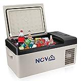 Novhome Réfrigérateur et congélateur de voiture de 20 L, compresseur de 12 V, mini réfrigérateur électrique portable pour...