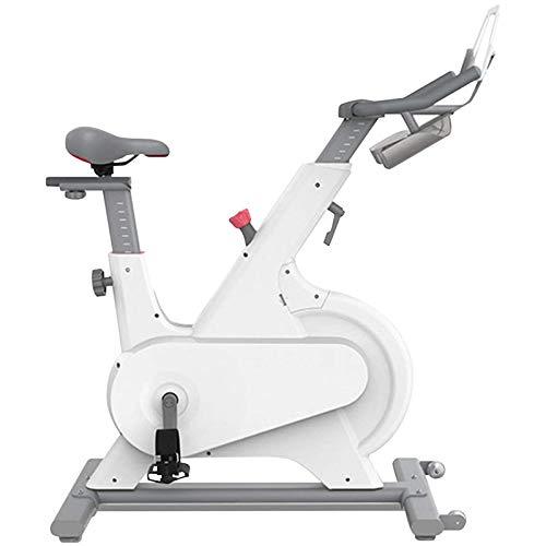 RJJBYY Bicicleta De Ciclo Interior Profesional, Bicicleta Giratoria Inteligente con Control Magnético para El Hogar, Equipo De Ejercicios para Pérdida De Peso Ultra Silencioso, Bicicleta Estática