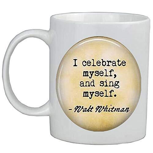 'Me celebro a mí mismo, y canto a mí mismo'. Regalo inspirador, AS0275