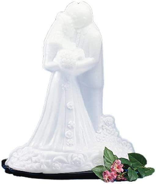 卡莱 SBG102 新娘和新郎冰雕模具单用月长个月宽 X 28 高度