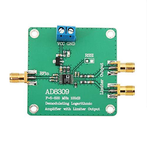 Módulo electrónico 5-500MHz 100dB detector Amplificador logarítmico medidor de potencia