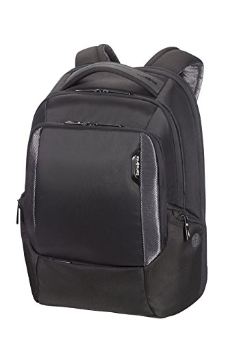 Samsonite Cityscape Tech LP Zaino 15.6', Nero (Black)