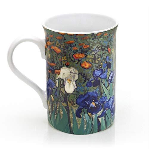 THE J. PAUL GETTY MUSEUM - Van Gogh's Irises - Mug - Porcelain