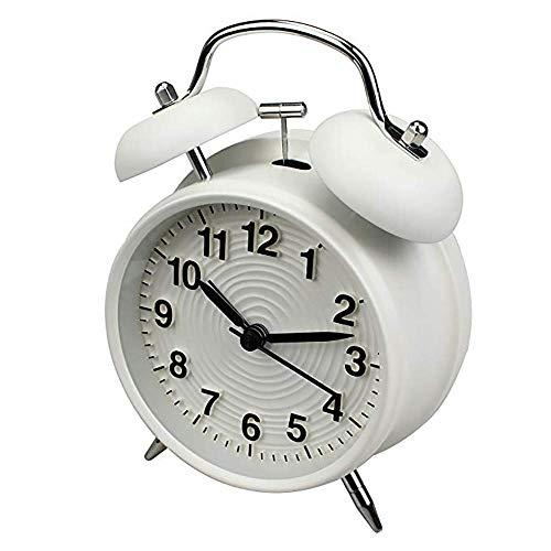 XCTLZG Reloj Despertador Retro clásico con Alarma de Campan