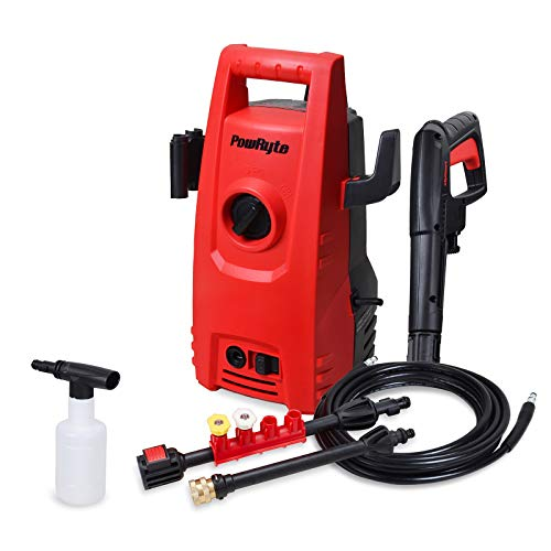 PowRyte Elite 2000PSI 1.6GPM Electric Pressure Washer,Electric Power Washer with 2 Quick-Connect Spray Tips and Wand,Car Washer