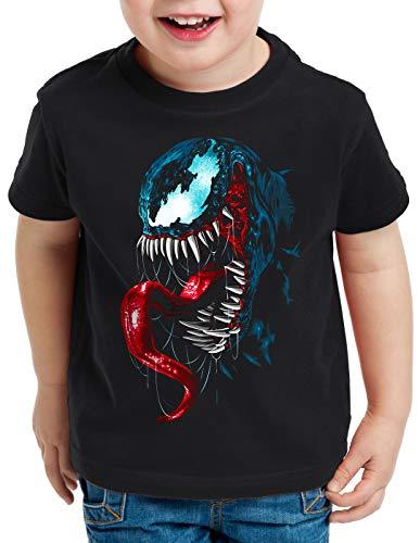 style3 Haze T-Shirt für Kinder Eddie Brock Comic Kino, Größe:116