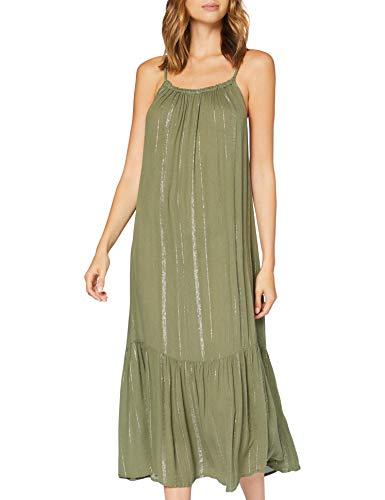 Dorothy Perkins Khaki Lurex Midaxi Dress Vêtement Couvrant d