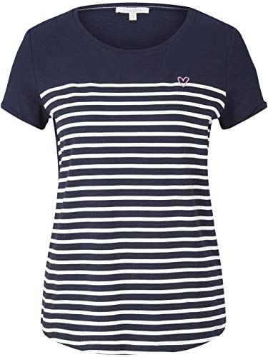 TOM TAILOR Denim Streifen Camiseta