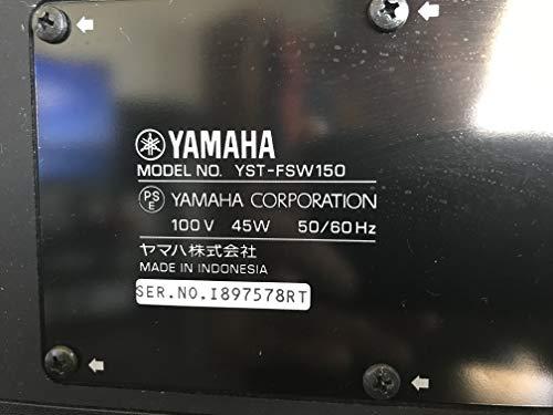 ヤマハ サブウーファー A-YSTII方式 ブラック YST-FSW050 B 1台