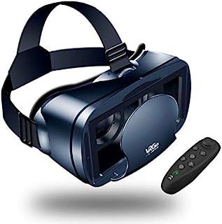 【Nouvelle édition】 LEHONG Casques de Réalité Virtuelle,Casque VR Lunettes 3D VR avec Bluetooth Télécommande avec Compatibi...
