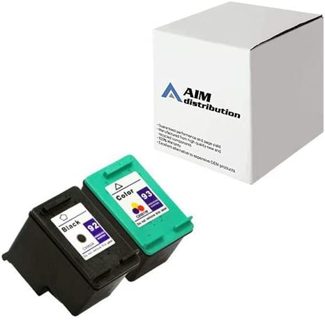 AIM Compatible Replacement for HP NO. 92/93 Inkjet Combo Pack (Black/Color) (C9513FN) - Generic