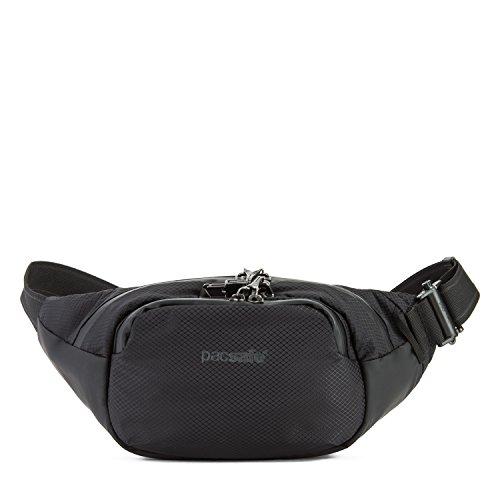 Pacsafe Venturesafe X Waistpack Anti-Diebstahl Gürteltasche, Diebstahlschutz Hüfttasche, Hipbag - Schwarz/Black