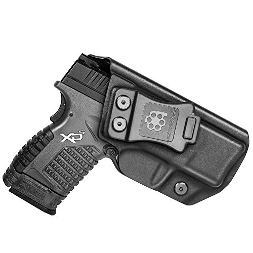 """Amberide IWB KYDEX Holster Fit: Springfield XD-S 3.3"""" 9mm/.40S&W/.45ACP Pistol 