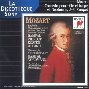 Sinfonia concertante K 297B (FR Import); Conc.Flute&Harp K.299