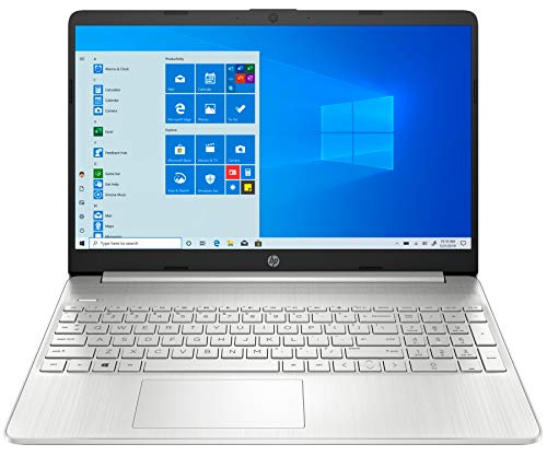 HP Laptop 15s-EQ1090 Plata Portátil 15.6' HD AMD Ryzen 5-4500U 256GB SSD 8GB Ram Windows 10 Home