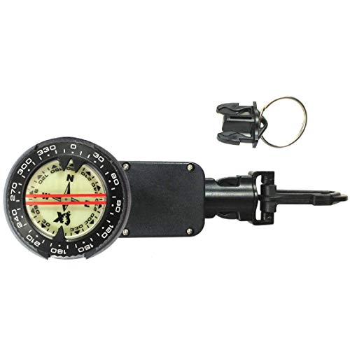 XS Scuba Retractable SuperTilt Compass