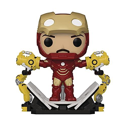 Pop! Iron Man 2: Iron Man MKIV con pórtico que brilla en la oscuridad figura de vinilo de lujo