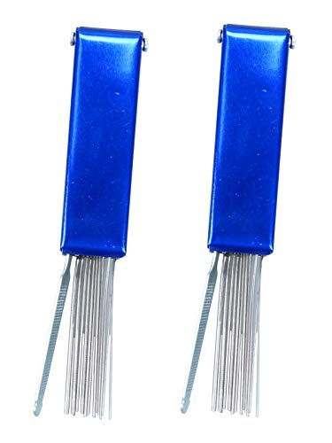 Tip Cleaner Set Stainless Steel 13 Wire for Welding Cutting Acetylene Tip,2 Pack