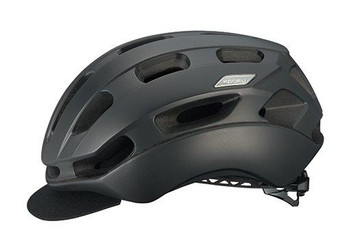 オージーケーカブト(OGK KABUTO) 自転車 ヘルメット BC-Glosbe2 マットブラック L/XL (頭囲:59cm-61cm)