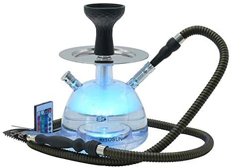 Hookah Set Micro Modern Acrylic 未使用品 Bubble 爆売り Wind Si with Cover