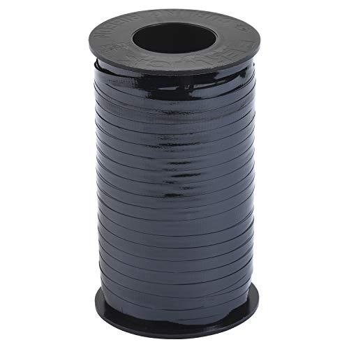 Berwick Offray Splendorette Crimped Curling Ribbon, 3/16-Inch Wide by 500-Yard Spool, Black Lacquer