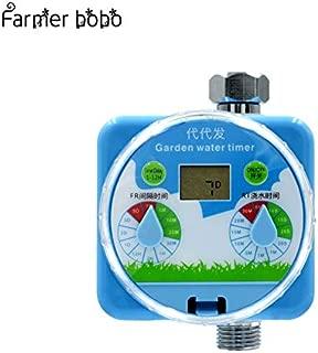 timer garden irrigation controller - Rain Sensor LCD Garden irrigation Timer Automatic Watering Controller Automatic Reboot System Autoplay