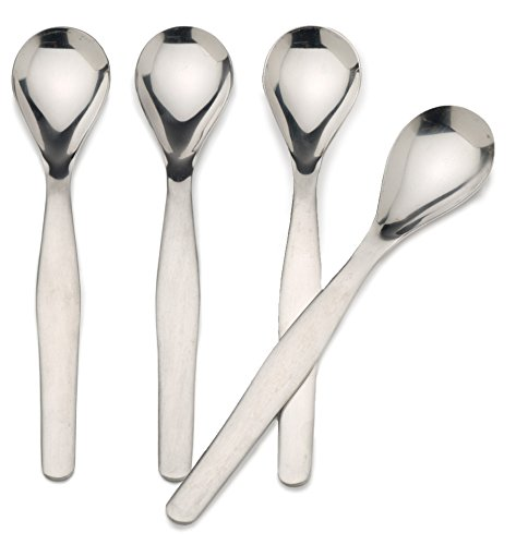 Endurance Egg Spoons Stainless Steel Set of 4