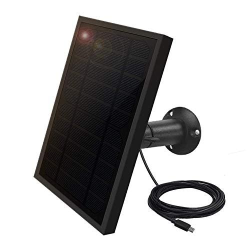 Weatherproof Solar Panel for Indoor / Outdoor Battery Powered Security Camera, Solar...