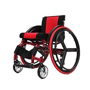 Silla de ruedas deportiva, Silla de ruedas manual, Plegable, Ligero,
