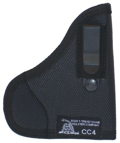 Don't Tread on Me Conceal and Carry Holsters DTOM Combination Pocket/IWB Holster for S&W Bodyguard 380, CC4