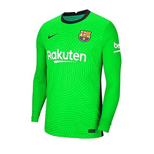 Nike 2020-2021 Barcelona Home Goalkeeper Football Soccer T-S