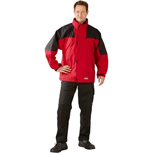 Größe XXXL Herren Planam Outdoor Winter Redwood Jacke rot schwarz Modell 3140