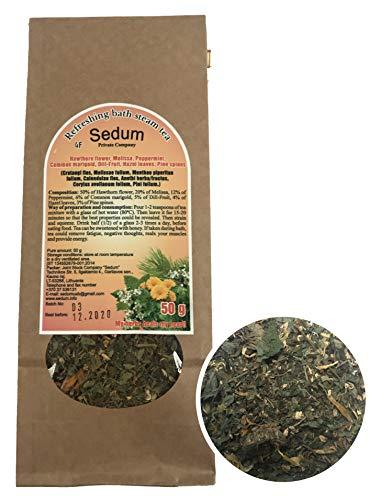 Té Herbal Sedum Mezcla - Espino, melisa, menta fresca, caléndula eneldo, hojas...