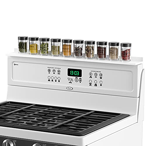 Top 10 best selling list for kitchen design with storage shelf behind stove