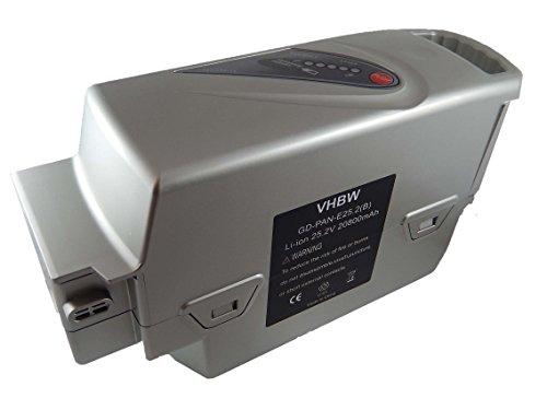 vhbw Batería Recargable reemplaza Panasonic 20AH, NKY190B02, NKY224B02, NKY226B02 para e-Bike, Bicicleta...