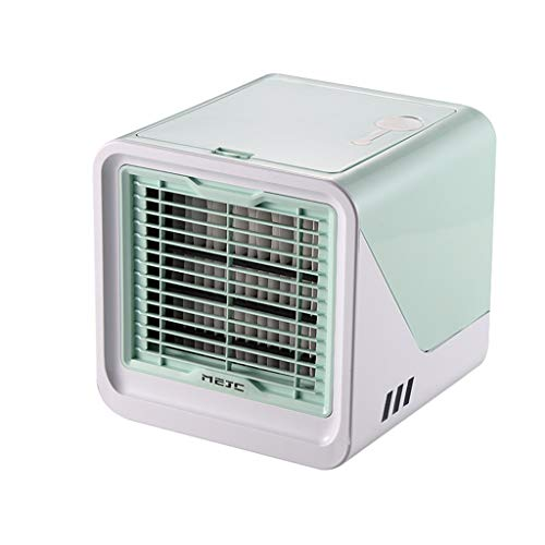 Selomore Portable Air Conditioner Fan, Air Cooler, Evaporative Cool, Personal Mini Desk Fan Purifier, Mist Humidifiers Air Circulator, Perfect for Bedroom, Office, Home