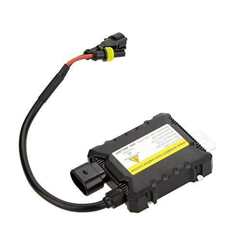 SODIAL 12V 55W Ultra Svelte Voiture Xenon HID remplacement CC numerique Ballast Ampoules