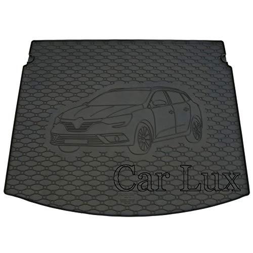 Car Lux AR03274 Tapis de coffre en caoutchouc pour Megane 4 Grandtour à partir de 2016