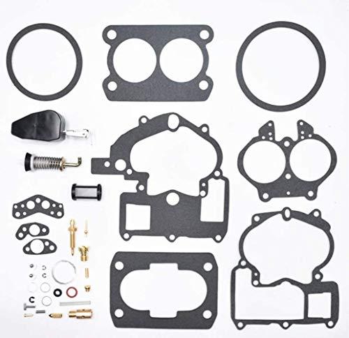 Autu Parts 3302-804844002 Repair Rebuild Carburetor Kit For Mercruiser Marine 2Barrel 3.0L 4.3L 5.0L 5.7L with 1389-9562A1 1389-9563A1 1389-9564A1 1389-9670A2 1389-806077A2 1389-806078A2