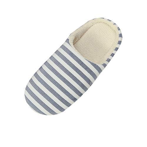 CHAUSSURES FEMME Manadlian Pantoufles Homme Chaussons Coton Hiver Chaud Mule Antidérapant Chaussons Femme la Maison Confortable Chaussures Plates