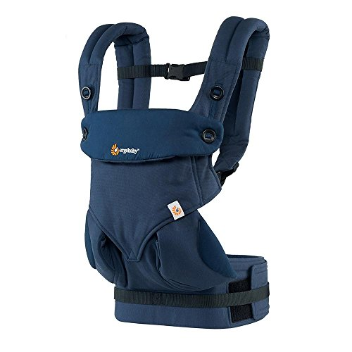 Ergobaby Carrier, 360 All Carry Positions Baby Carrier, Midnight Blue
