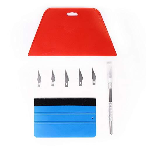 Kit di montaggio per carta da parati per installazione di pellicole in vinile, autoadesive per mobili, adesivi