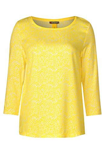 Street One 314666 Camiseta, Amarillo Brillante, 44 para Mujer