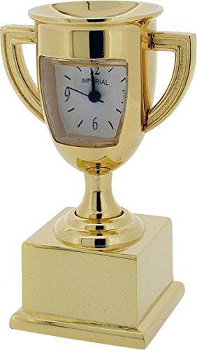 Gold Trophy Miniatur Uhr von Gift Time Products
