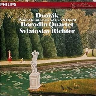 Dvorak: Piano Quintets in A, Op. 5 & 81